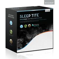 SLEEP TITE Premium Mattress Protector/Mattress Cover - 100% WATERPROOF