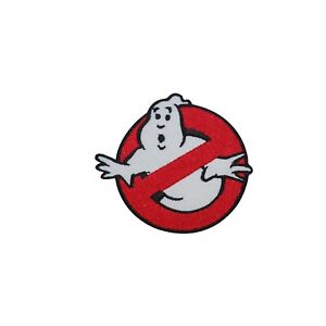 Ghostbuster Movie Ghost Logo Patch Iron On Sew On Badge Embroidered Patch