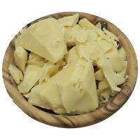 Organic Raw COCOA BUTTER 100% Pure Unrefined FOOD GRADE Chocolate Cocoa Bean