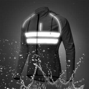 Cycling Bike Jackets for Men Women Winter Thermal Windproof Breathable