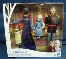 Disney Hasbro Frozen 2 Arendelle Royal Family Doll Set Anna Elsa King Queen New