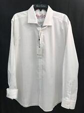 Robert Graham DEVEN White L/S Skull Pattern Tailored Fit 2XL $148 NEW NWT XXL