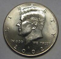 2002-D John F Kennedy Clad Half Dollar Choice BU Condition From Mint Set  DUTCH