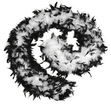 FEATHER BOA 80G BURLESQUE,SHOWGIRL,DANCER,HEN PARTY FANCY DRESS OUTFIT ACCESSORY
