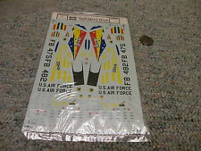 Microscale decals 1/72 72-223 F101A and F-101C G32