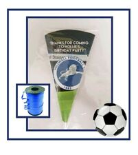 10 MILLWALL FOOTBALL DIY/party bags/sweet cones/kit/supplies