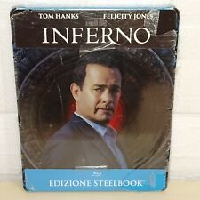 INFERNO - TOM HANKS - STEELBOOK - BLU-RAY