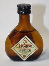 Grappa Bocchino 25 ml  mini flaschen bottle miniature bottela mignonnette Old