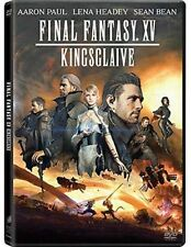Dvd FINAL FANTASY XV - KINGSGLAIVE - (2016) ***Contenuti Speciali***....NUOVO