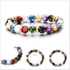 Handmade Solar System Bracelet Universe Galaxy Nine Beaded Bracelet Popular SH