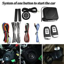 NEW Keyless Entry Car Alarm System Remote Start & Push Button Start Engine Kit