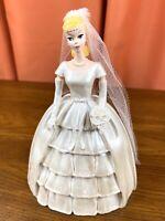 Barbie 1963 Bride's Dream Danbury Mint Figurine w/ Box - 1993 - Wedding Dress