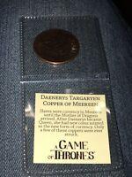 Game Of Thrones Daenerys Targaryen Breaker Of Chains Coin, nerd block exclusive