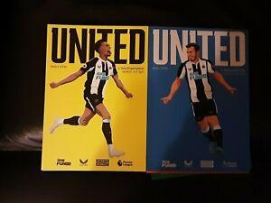 Newcastle United Home Programmes 2021-22 Season Choose From List