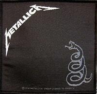 METALLICA AUFNÄHER / PATCH # 46 BLACK ALBUM - 10x10cm