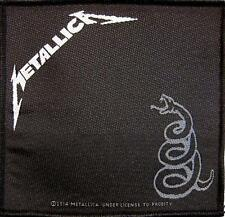"METALLICA AUFNÄHER / PATCH # 46 ""BLACK ALBUM"""
