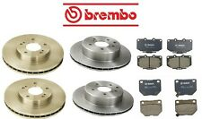 Brembo Complete Front Rear Brake Rotors & Pads Kit for Nissan 300ZX 91-96 3.0L