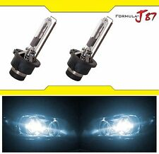 HID XENON HEAD LIGHT D2R TWO BULB 6000K DUAL BEAM BI-XENON WHITE COLOR REPLACE K