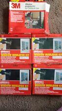 Set of 5 NEW Window Insulator Kits 3' x 5' Multi-Window Packs