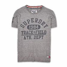 Superdry Herren T-Shirt Shirt Classic Gr.XL (wie L) Track & Field Grau 92920