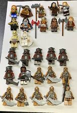 Lego Hobbit Lord Of The Rings Large Collection X34 Minifigures Uruk-hai Dain