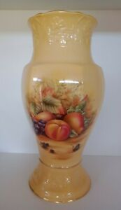 Aynsley Orchard Gold Millennium Shamrock Vase - Limited Edition - New