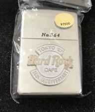 Hard Rock Cafe Limited Edition Chrome Zippo 14th Anniversary 97 Tokyo RARE