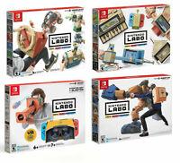 BRAND New Lot Bundle 4 NINTENDO LABO kits: VARIETY, ROBOT, VEHICLE, VR Starter