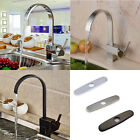 New Deck Mounted Kitchen Faucet Swivel Spout Single Handle Sink Mixer Tap