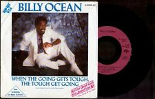 "BILLY OCEAN - When The Going Gets Tought, Get Going - German SG 7"" Jive 1986"