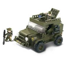 SLUBAN M38-B0299 - ARMY SUV BUILDING BRICKS KIT