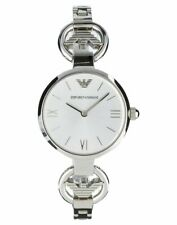 Spectacular EMPORIO ARMANI stainless steel link bracelet WATCH armani wings bnib