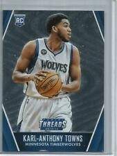 Karl-Anthony Towns 15/16 Panini Threads Micro-Tech Rookie