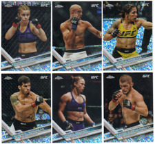 2017 Topps Chrome UFC - Diamond Refractor Parallels - Choose MMA Card #'s 1-100
