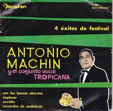 """Con Los Brazos Abiertos 7"""" : Antonio Machín"""