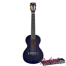 Mahalo MH3TBK Hano Series Tenor Ukulele with Bag and Aquila Strings - Black