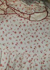 """(2) Pc. Ralph Lauren """"Colchester"""" Red Twin Flat Sheet & Pillowcase ~ Excellent"""