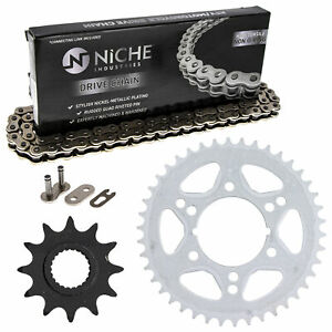 Sprocket Chain Set for Polaris Trail Boss Trail Blazer 250 12/42 Tooth 520 Combo