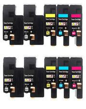 10Pk Color/Black Toner Cartridge for Xerox Phaser 6020 6022 WorkCentre 6025 6027