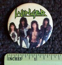 Winger Vintage Lapel Pin original 1980s Metal Rock Hair Band