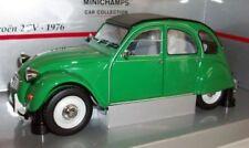 Artículos de automodelismo y aeromodelismo color principal verde Citroën de escala 1:18