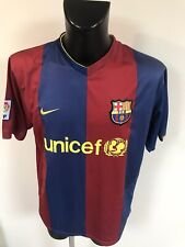 Maillot Foot Ancien Barcelone Numero 19 Messi Taille XL