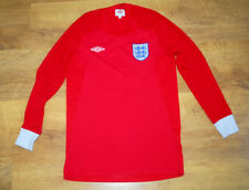 Umbro England 2010/2011 away long-sleeved shirt (For height 152 cm)