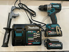 Makita Gph01d 40v 12 In Hammer Drill Driver Kit With Two 25ah Batteries