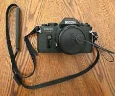 Vintage '80's Ricoh KR-10 Super with Rikenon 1:2 50mm Lens & Tamrac Padded Case