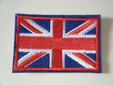 GREAT BRITAIN FLAG PATCH Embroidered SEW ON UNION JACK UNITED KINGDOM Badge NEW