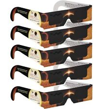 5-Pack Premium Lunt Solar Sunsafe Certified Eclipse Viewing Glasses