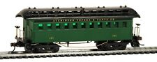HO MANTUA 1890 COACH CAR   #716100 SANTA FE  WOOD    PASSENGER CAR A.T.S.F.