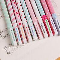 Multi Colors Gel Ink Pen Cute Korean Cartoon Pin Type kawaii stationery 10 Pcs