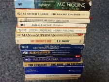 Lot of 15 classical literature books FREE SHIPPING